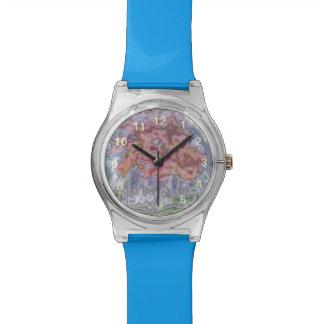 Modelo abstracto de la naturaleza relojes de pulsera