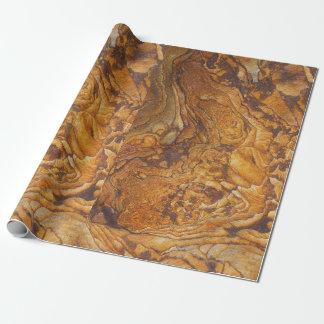 Modelo abstracto de la piedra arenisca papel de regalo