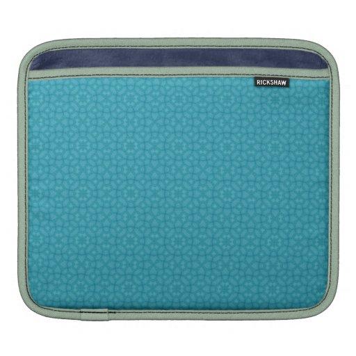 Modelo abstracto de madera azul manga de iPad
