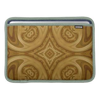 Modelo abstracto de madera funda  MacBook