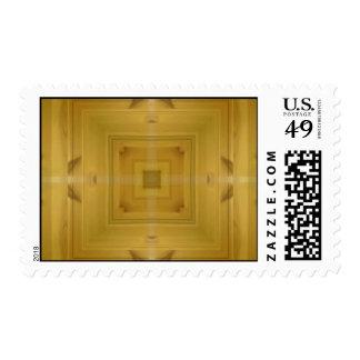 Modelo abstracto de madera envio
