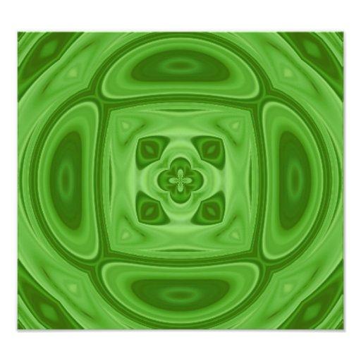 Modelo abstracto de madera verde fotografías