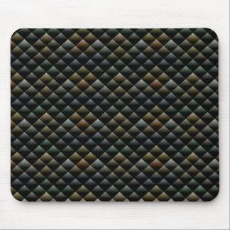 Modelo abstracto de Snakeskin Tapetes De Ratón
