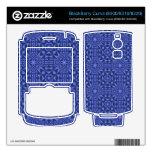 Modelo abstracto de ZoBlue BlackBerry Calcomanías