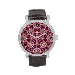 Modelo abstracto decorativo relojes de pulsera