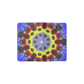 Modelo abstracto del caleidoscopio funda para libreta y libreta pequeña moleskine