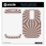 Modelo abstracto del círculo BlackBerry bold skin
