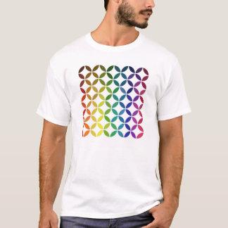 modelo abstracto del círculo de color de la forma playera