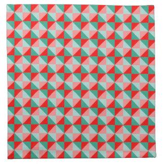 Modelo abstracto del cuadrado y del triángulo de servilleta