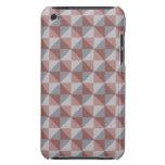 Modelo abstracto del cuadrado y del triángulo iPod Case-Mate carcasas