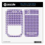 Modelo abstracto del cuadrado y del triángulo BlackBerry skins