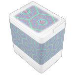 Modelo abstracto del hexágono refrigerador igloo