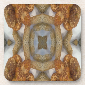 Modelo abstracto del pan posavasos de bebida
