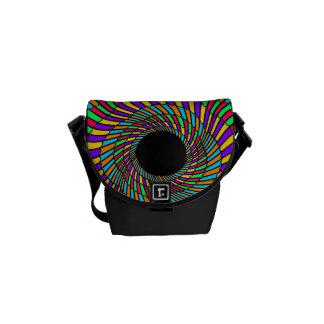 modelo abstracto del remolino del calabozo bolsa de mensajería