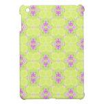 Modelo abstracto del rosa y del verde iPad mini coberturas