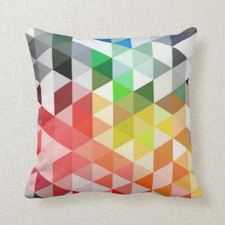 Modelo abstracto del triángulo del arco iris almohada