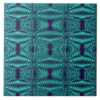 modelo abstracto del trullo azulejo cuadrado grande