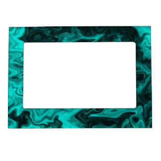 Modelo abstracto del trullo marcos magnéticos para fotos
