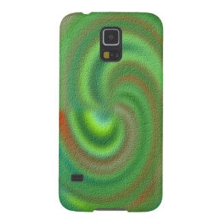 Modelo abstracto distintivo funda para galaxy s5