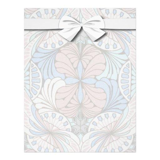 modelo abstracto enrrollado del remolino plantillas de membrete