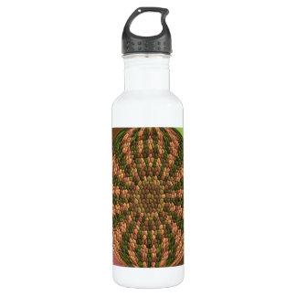 Modelo abstracto extraño botella de agua