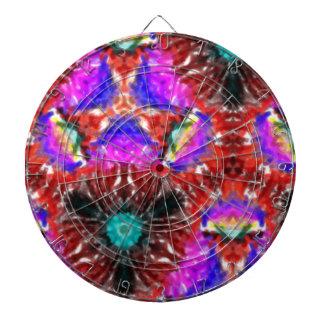 Modelo abstracto extraño tabla dardos
