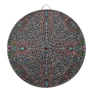 Modelo abstracto extraño tablero de dardos