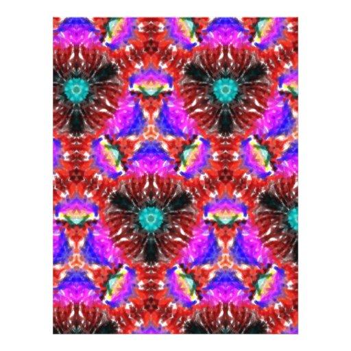 Modelo abstracto extraño tarjeta publicitaria