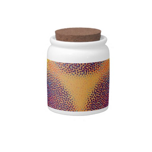 Modelo abstracto extraño jarra para caramelo