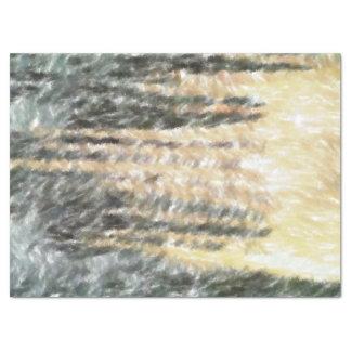 Modelo abstracto extraño papel de seda grande