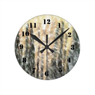 Modelo abstracto extraño relojes