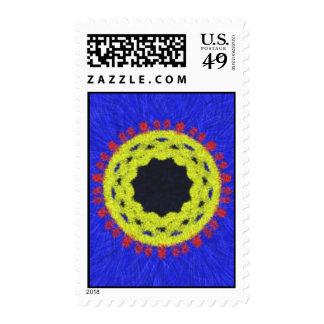 Modelo abstracto extraño sellos