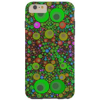 Modelo abstracto fluorescente brillante iPhone6 Funda Para iPhone 6 Plus Tough