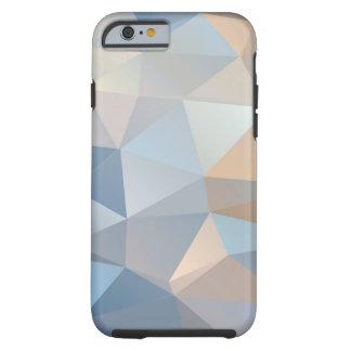 Modelo abstracto fresco del triángulo funda para iPhone 6 tough