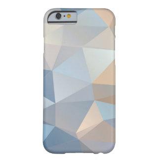 Modelo abstracto fresco del triángulo funda de iPhone 6 barely there