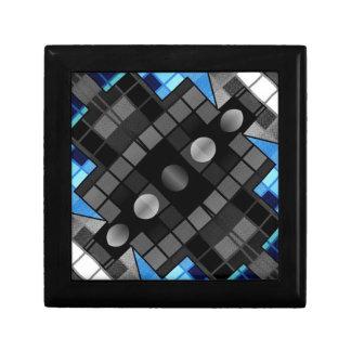Modelo abstracto geométrico cajas de recuerdo