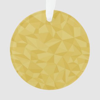 Modelo abstracto geométrico de oro del mosaico ama