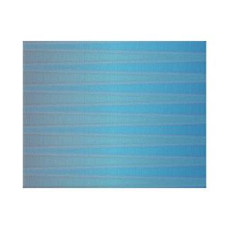 Modelo abstracto geométrico moderno de la onda impresión en lienzo estirada