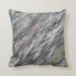 modelo abstracto gris almohada