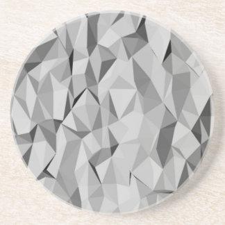 modelo abstracto gris posavasos para bebidas