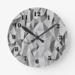 Modelo abstracto gris reloj