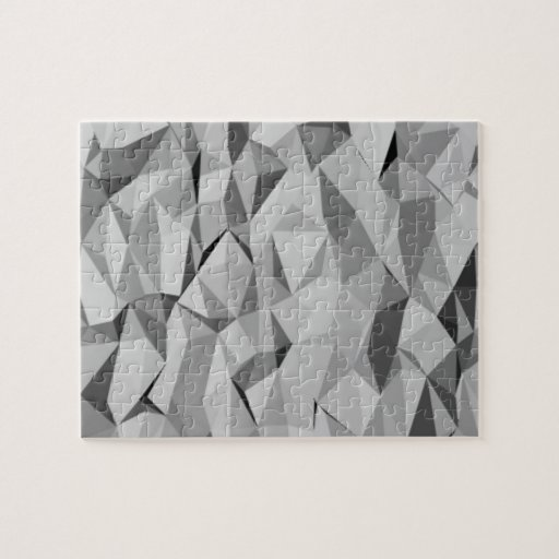 modelo abstracto gris rompecabezas con fotos