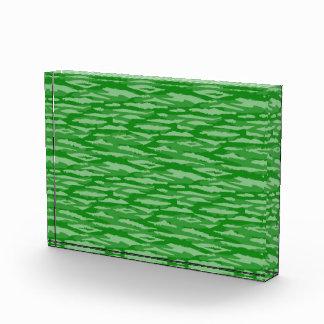 Modelo abstracto inconsútil verde