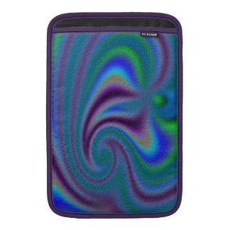 Modelo abstracto inusual funda macbook air