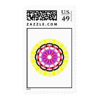 Modelo abstracto moderno agradable sellos