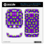 Modelo abstracto moderno BlackBerry curve skins
