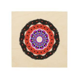 Modelo abstracto moderno del círculo cuadros de madera
