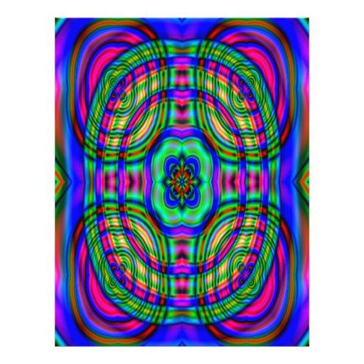 Modelo abstracto moderno tarjetas publicitarias
