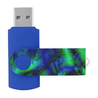 Modelo abstracto moderno fresco del arte de memoria USB