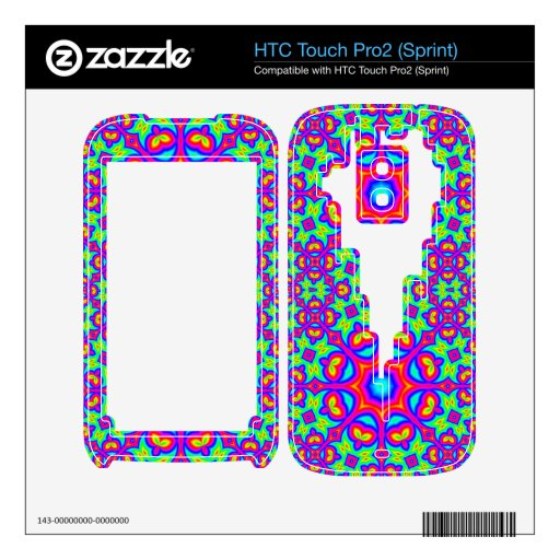 modelo abstracto moderno HTC touch pro2 skin